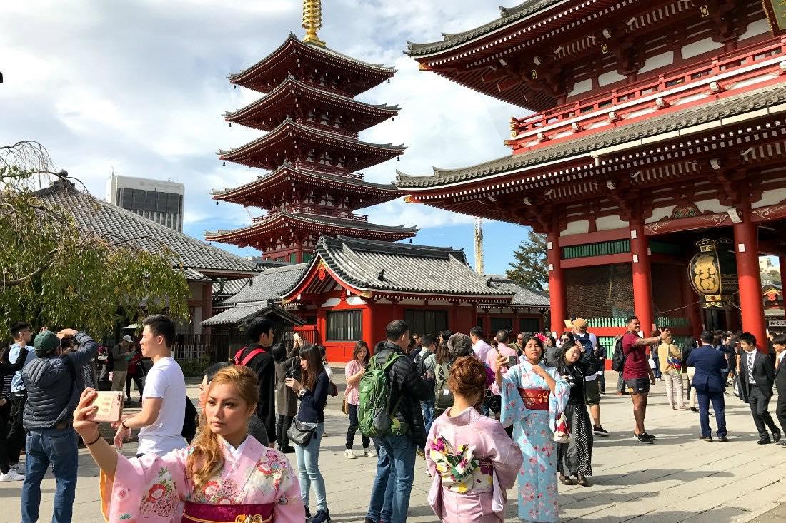 Tempel in Tokio
