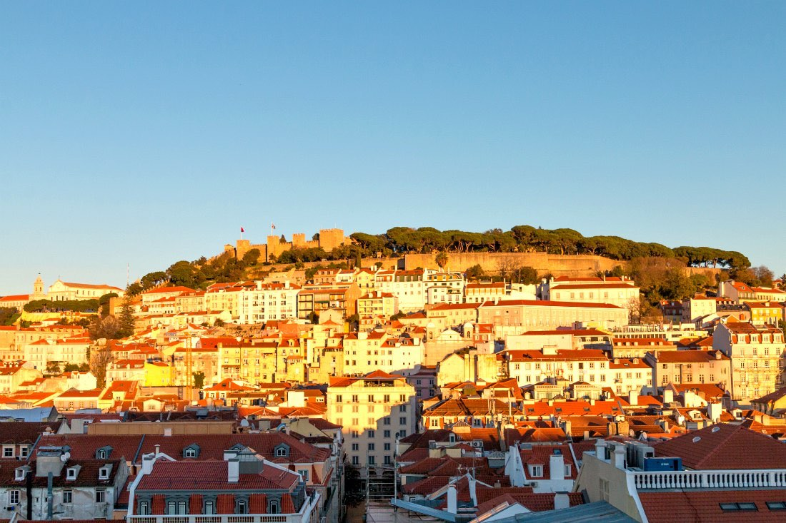 Lissabon in de winter