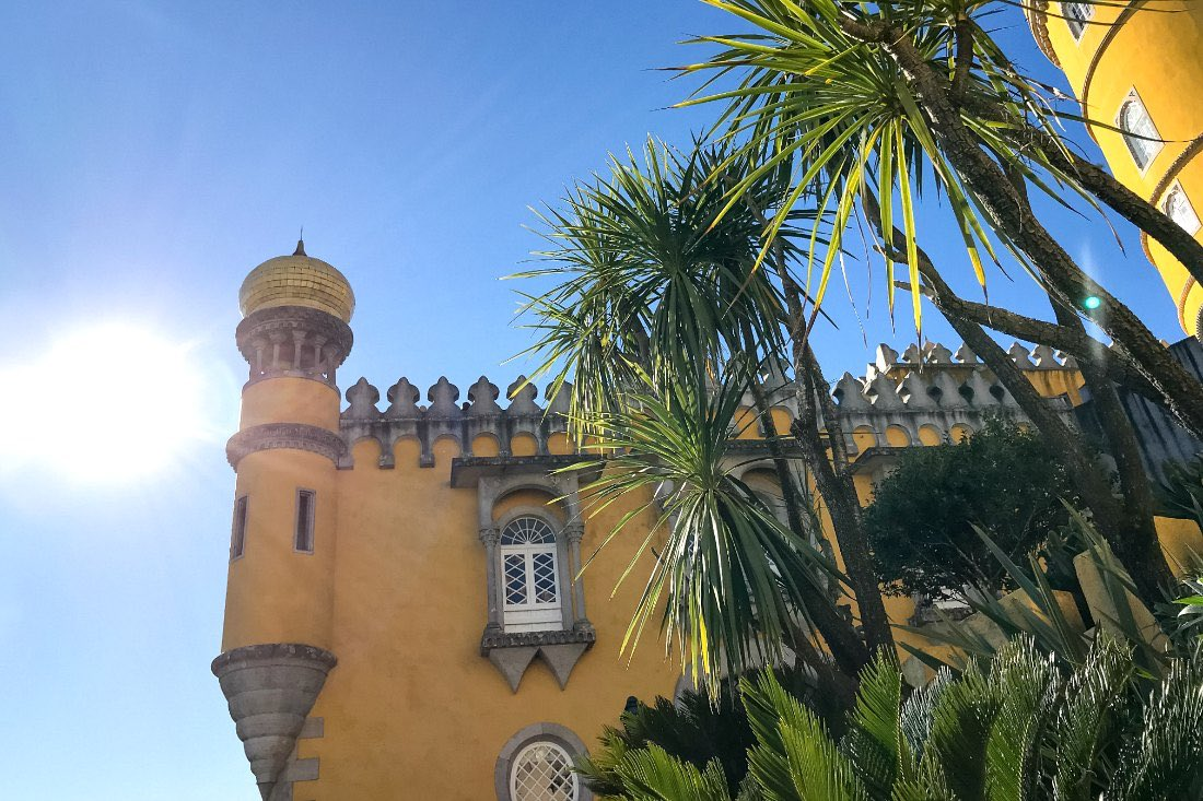 Lissabon in de winter: Sintra