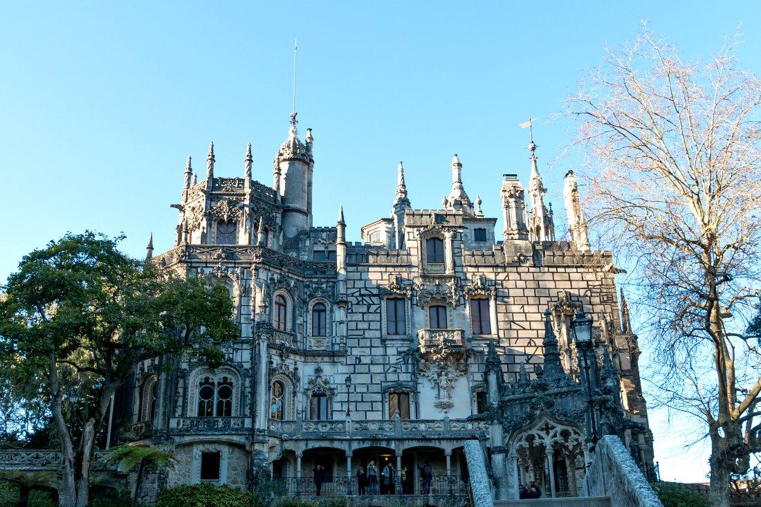 Lissabon in de winter: Quinta da Regaleira