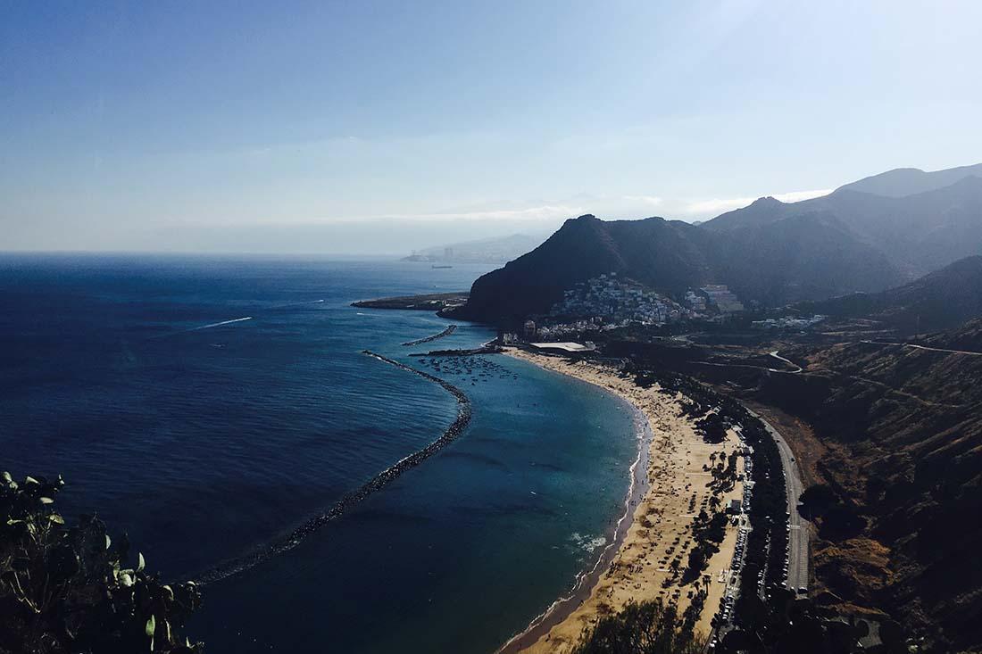 Playa de Las Teresitas strand Tenerife