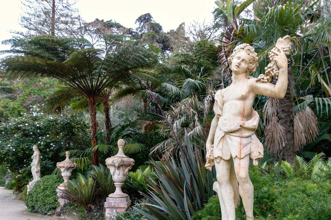 De tuin van Sintra Quinta da Regaleira