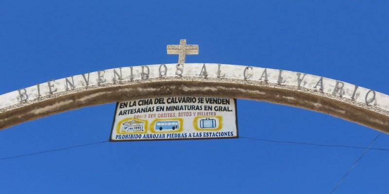 Copacabana Religion: Pilgerweg zum Cerro Calvario