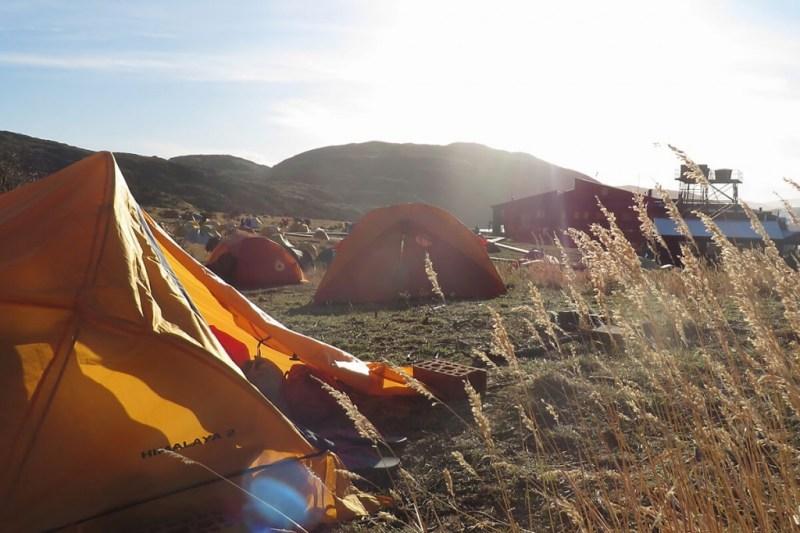 Camping im Torres del Paine Nationalpark