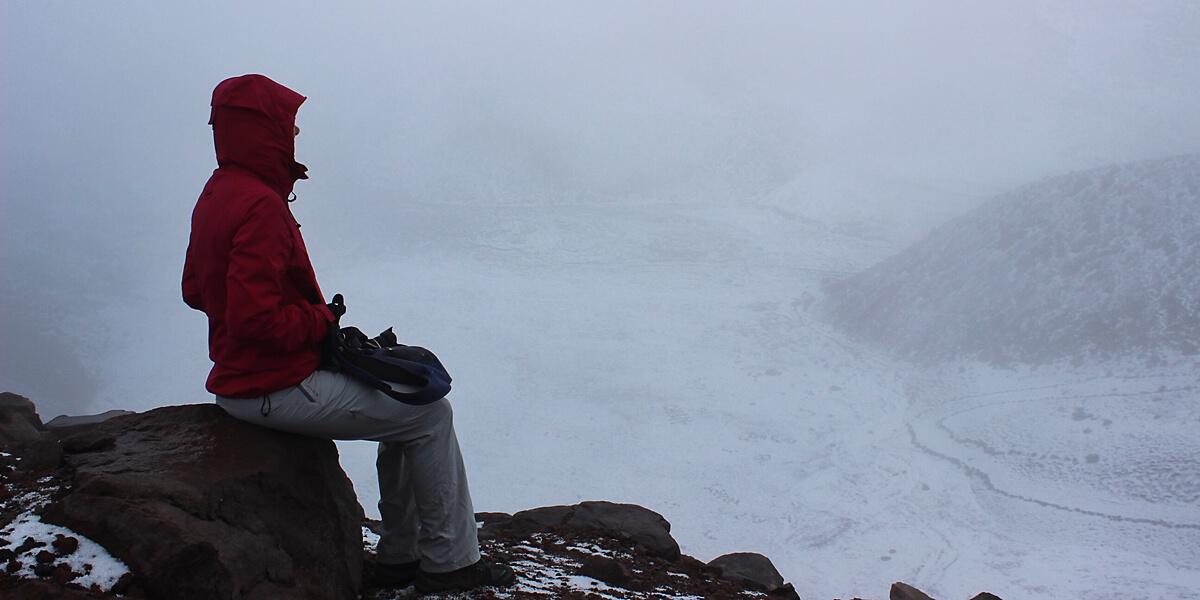 Chimborazo der höchste Punkt der Erde