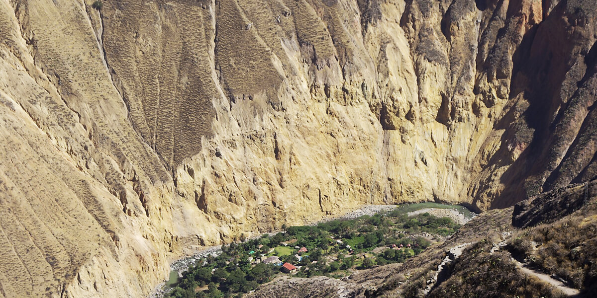 Oasis Sangalle im Canyon del Colca