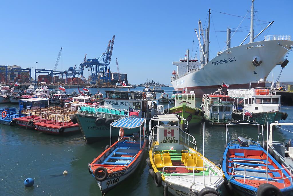 Hafen in Valparaiso Chile