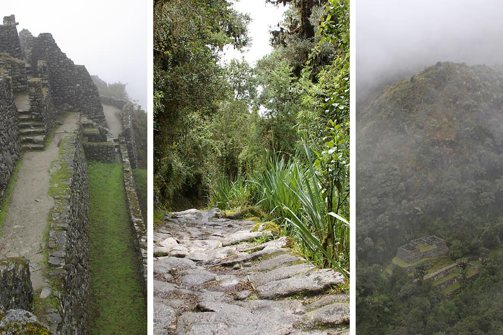 Trekking auf dem Inka Trail in Peru