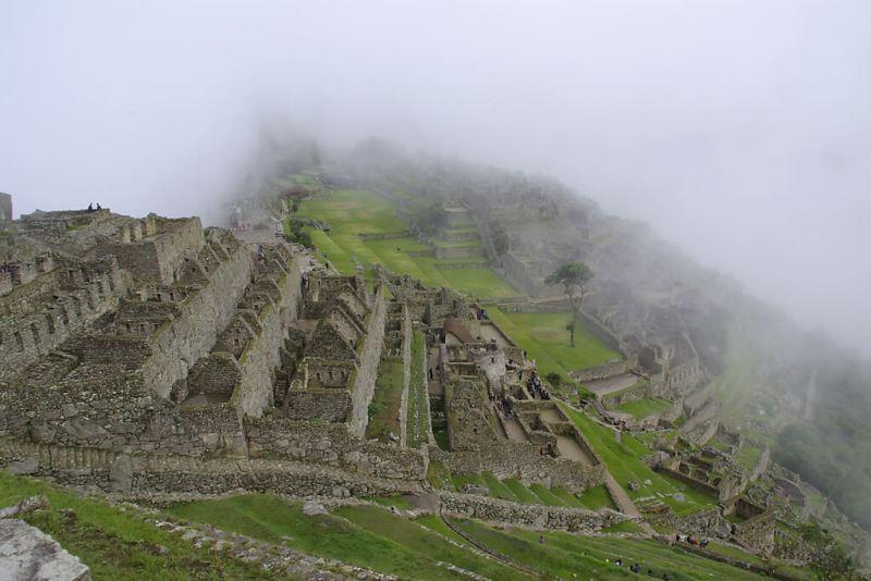 Inkastätte Machu Picchu in Peru
