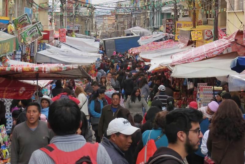 Märkte in La Paz Bolivien