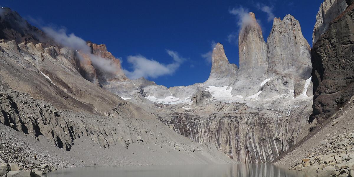 Las Torres im Torres del Paine Nationalpark
