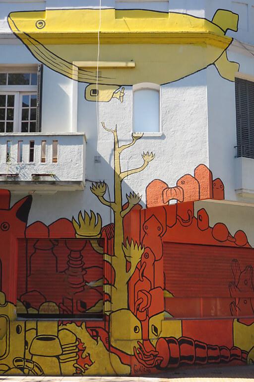 Kunstwerk auf Street Art Tour in Buenos Aires Norden