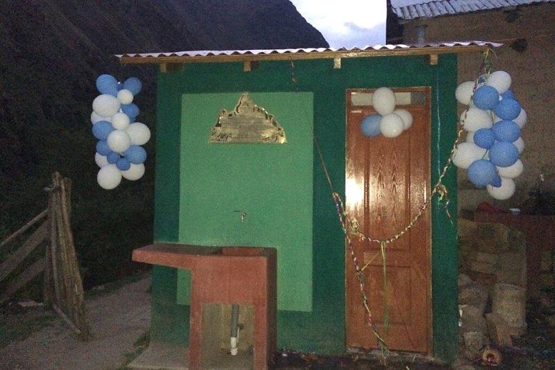 Toilettenparty in den Anden