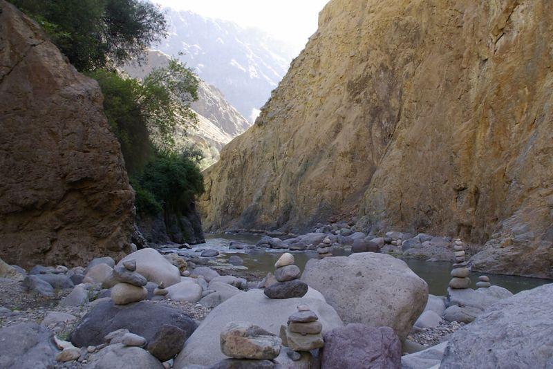 Oasis Sangalle im zweittiefsten Tal der Welt