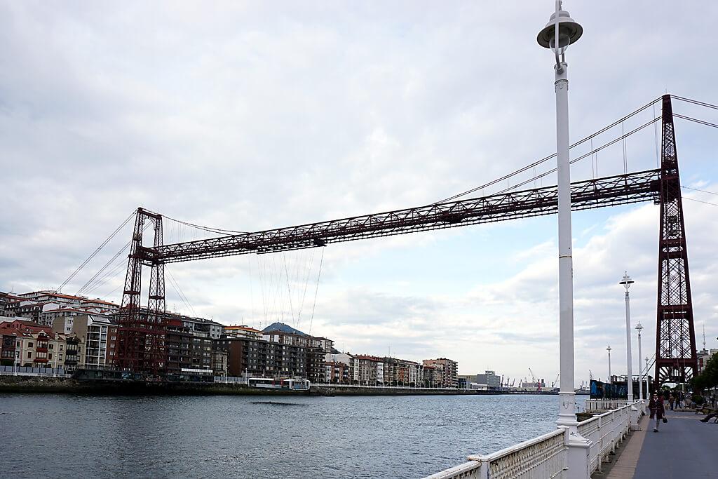 Biskaya-Brücke im Baskenland
