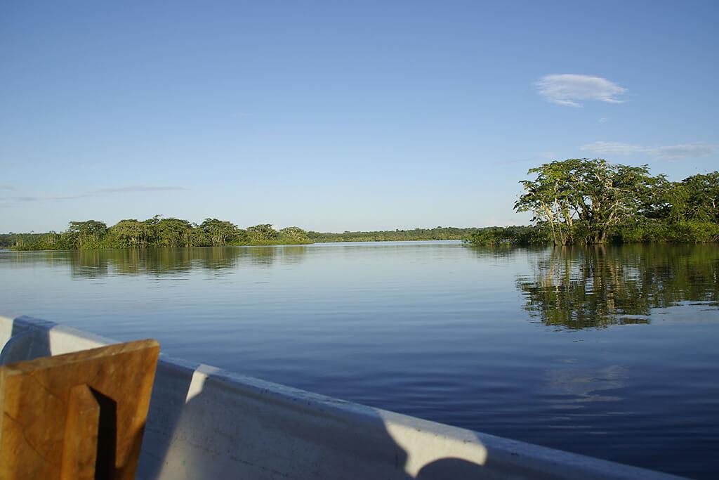 Lagune im Cuayabeno Nationalpark