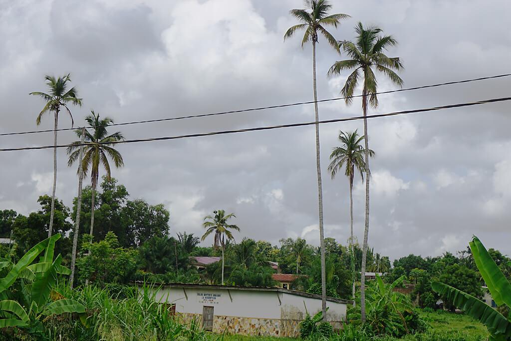 Gewitter in Kpalimé Togo