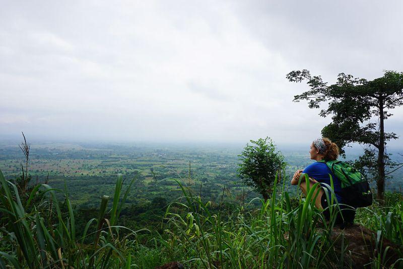 Ebene von Togo