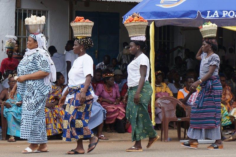 Erntedankfeste in Togo