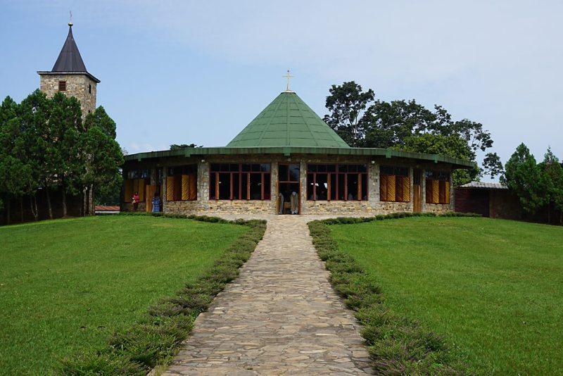 Kloster auf dem Plateau Danyi in Togo
