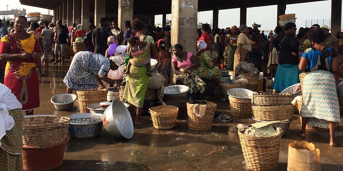 Lomé Märkte