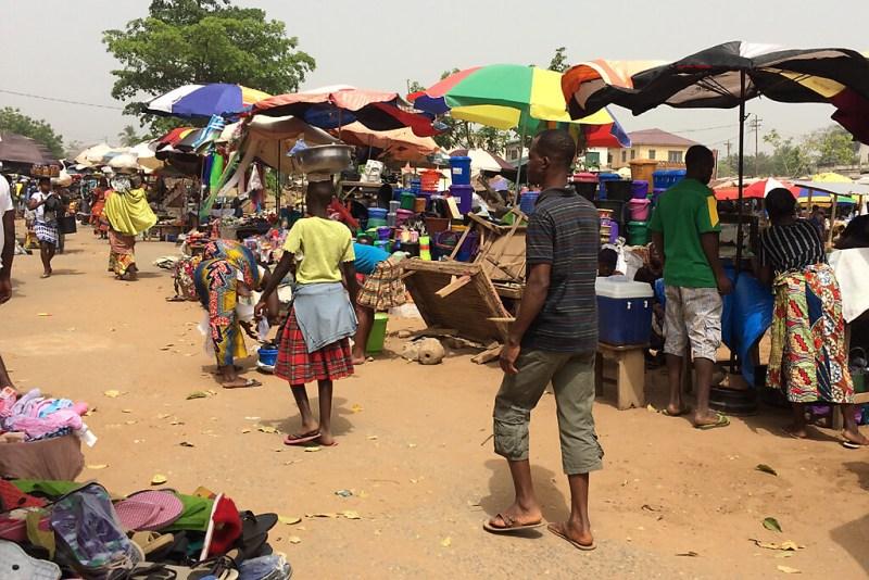 Grand Marché von Kpalimé