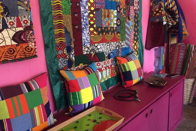 Geschäft in Lomé