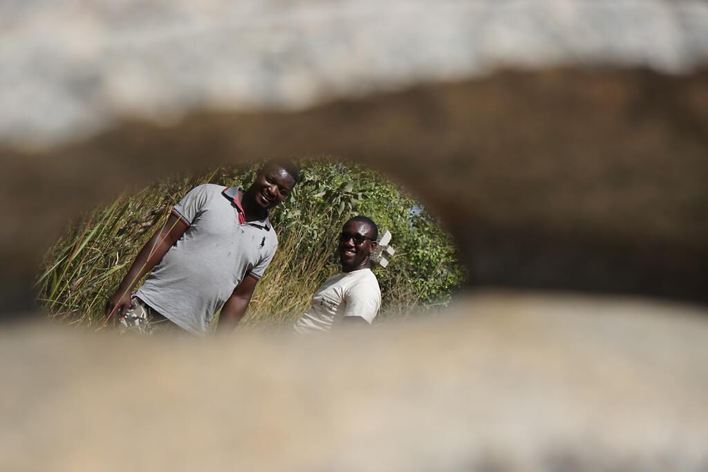 Parc de Sculptures de granit bei Ouagadougou