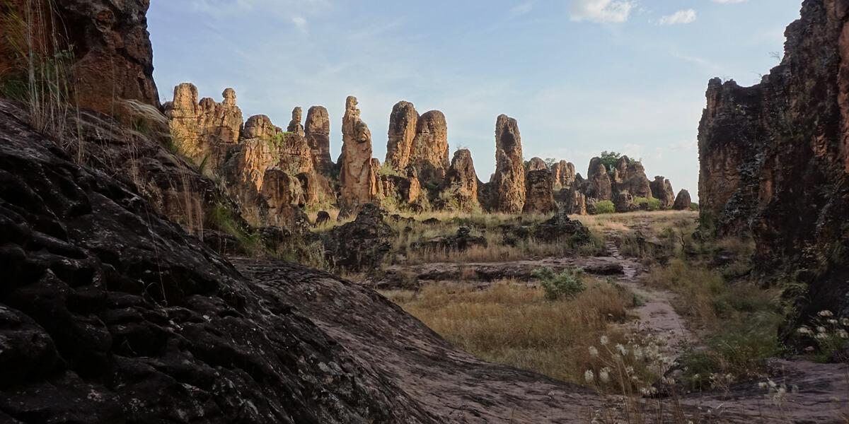 Pics Sindou bei Banfora in Burkina Faso