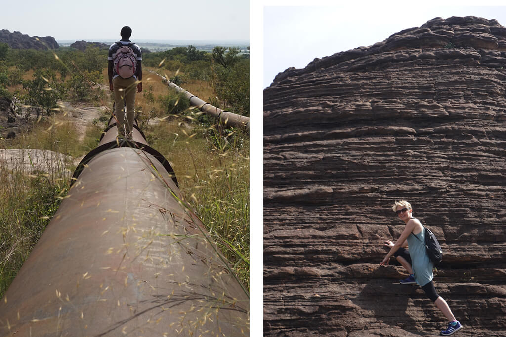 Wanderung zu den Domes de Fabedougou bei Banfora