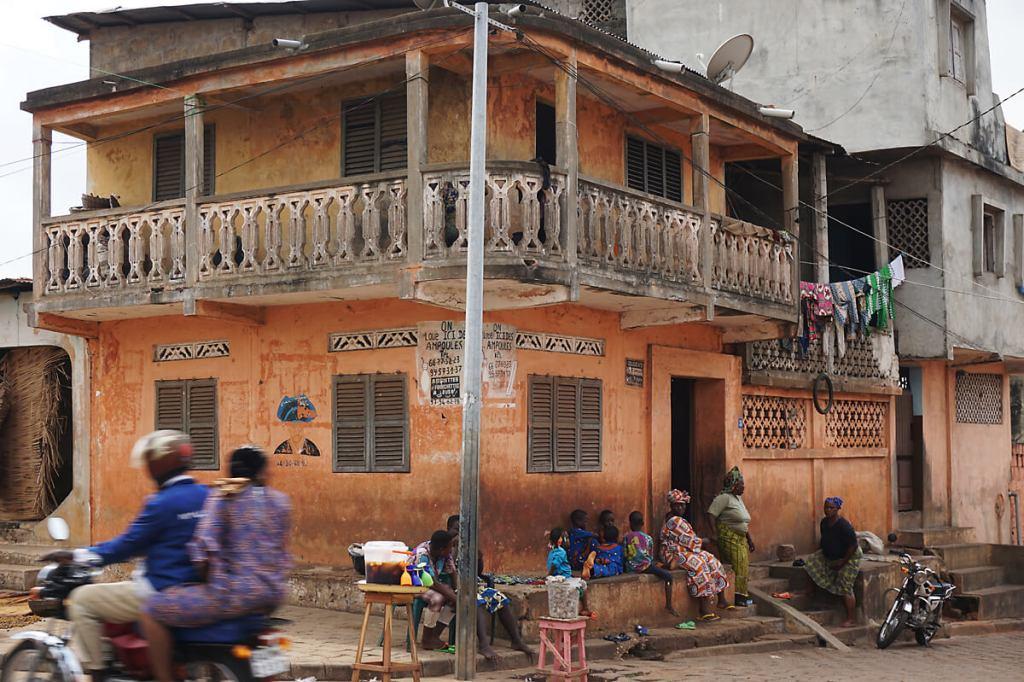Koloniale Architektur in Porto-Novo
