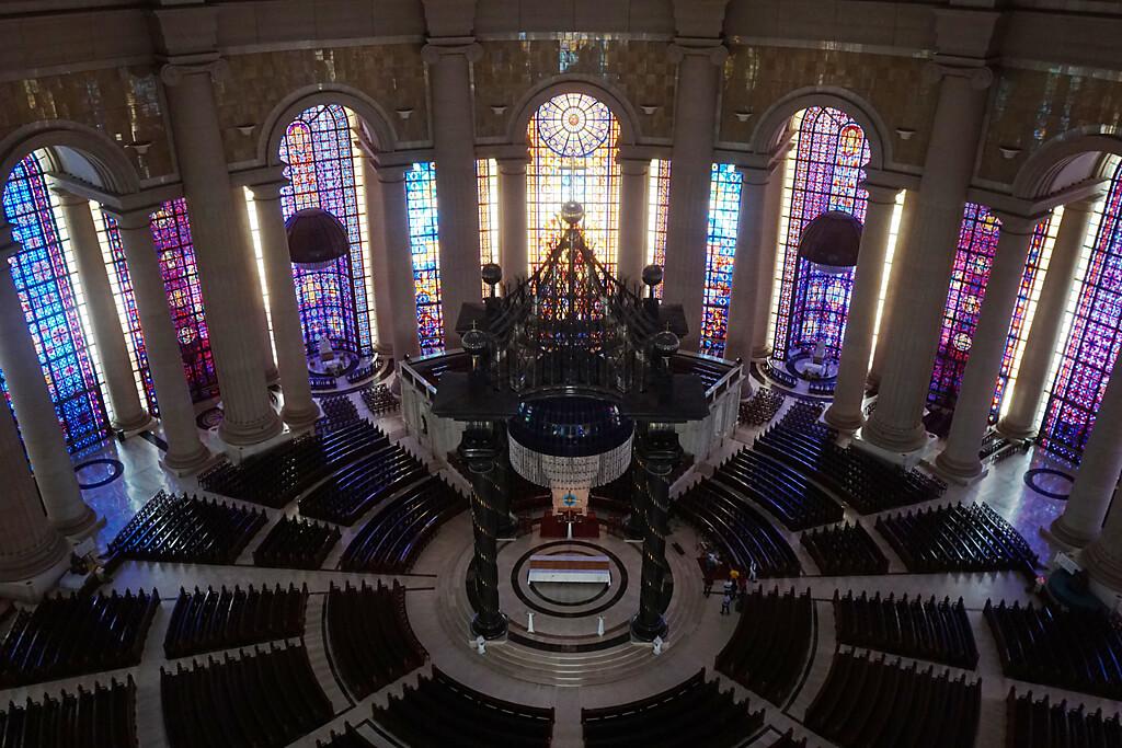 Die größte Kirche der Welt in Yamoussoukro