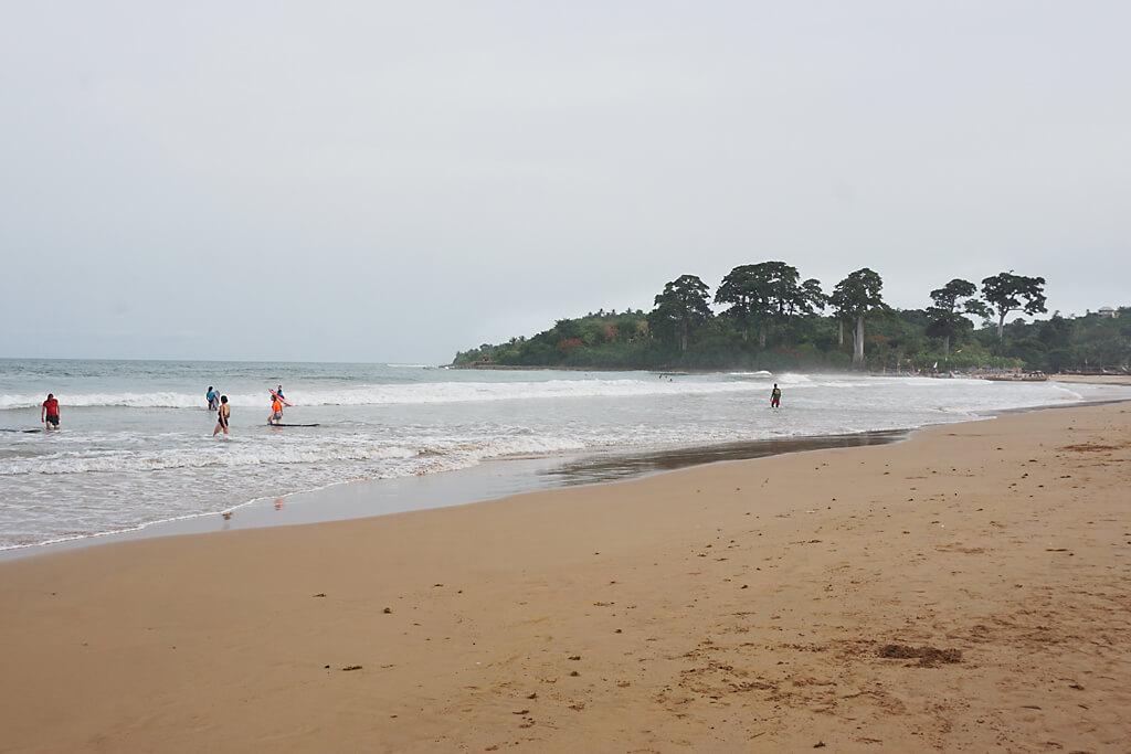 Strand von Busua in Ghana