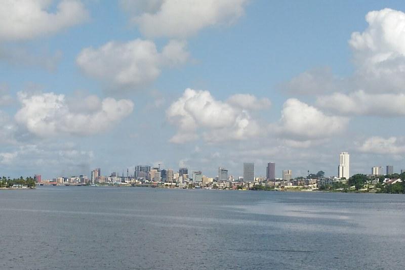 Skyline von Abidjan, Elfenbeinküste