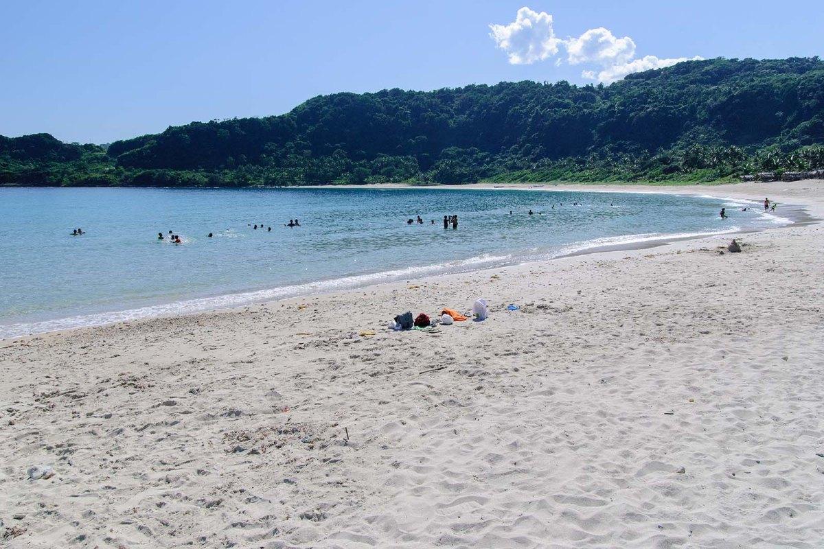 High noon at the Blue Lagoon (Maira-ira Beach), Pagudpud