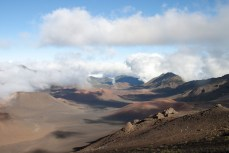 Wolken Slidings Sands Haleakala Maui Hawaii