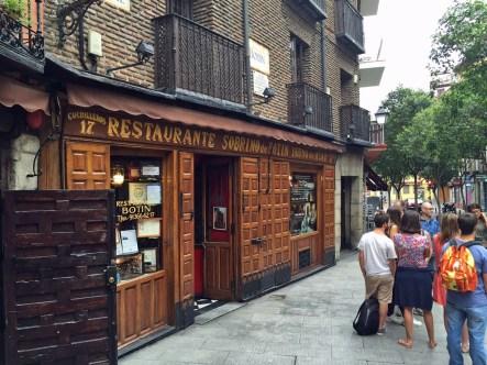 Das älteste Restaurant der Welt ...