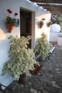 Eingang & Terrasse zu unserer Finca Casa Guajar
