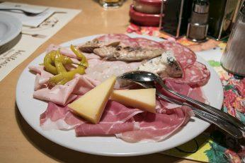 Italinienischer Jausenteller