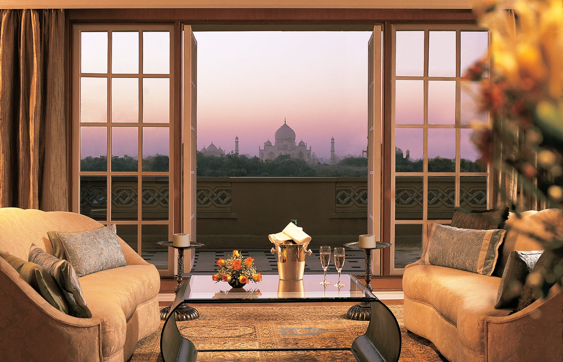 Image result for Oberoi Amarvilas Agra India