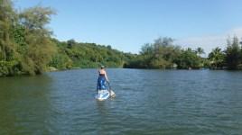 Paddleboarding the Hanalei