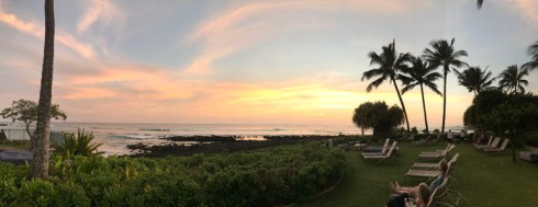 Sunset from the Honu Bar