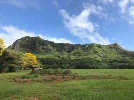 The vista from the Nounou Trailhead