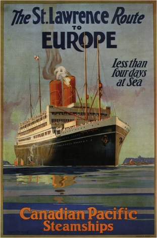 Image result for vintage steamship travel