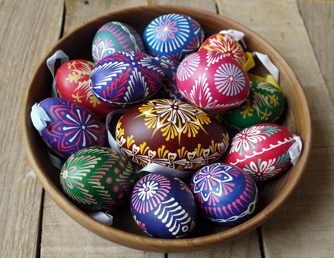 Image result for copper coated easter eggs images