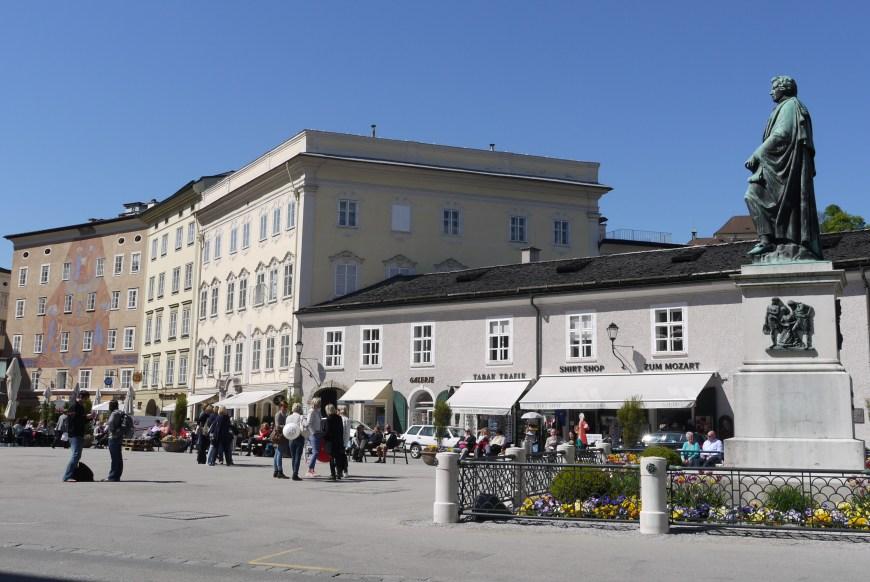 Kto bol Mozart - Salzburg