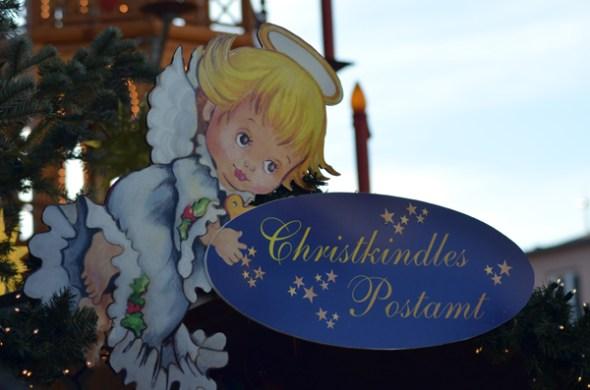 Augsburg Christkindles Postamt