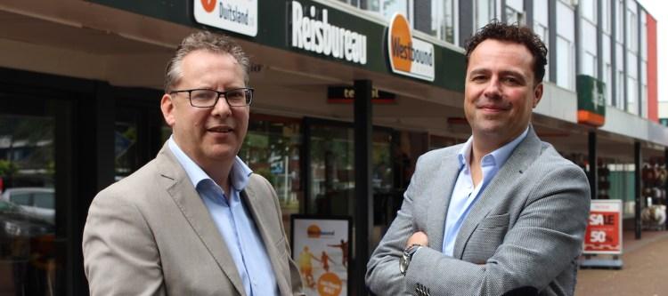 Bart Kwaad & Peter Vroom van Westbound Travel