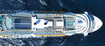 Archiefbeeld: Costa Cruises Smeralda