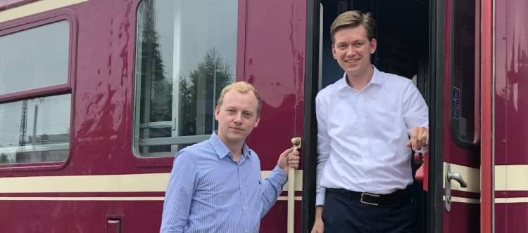 Hessel Winkelman en Maarten Bastian